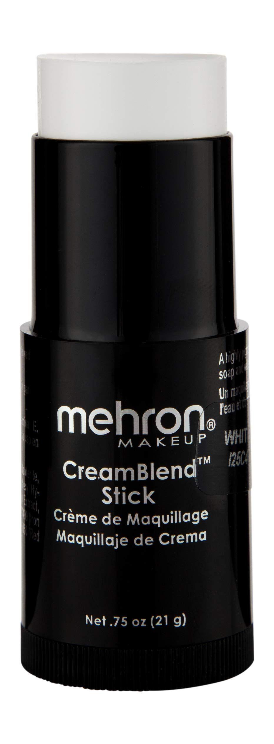 Mehron Makeup CreamBlend Stick (.75oz) (White