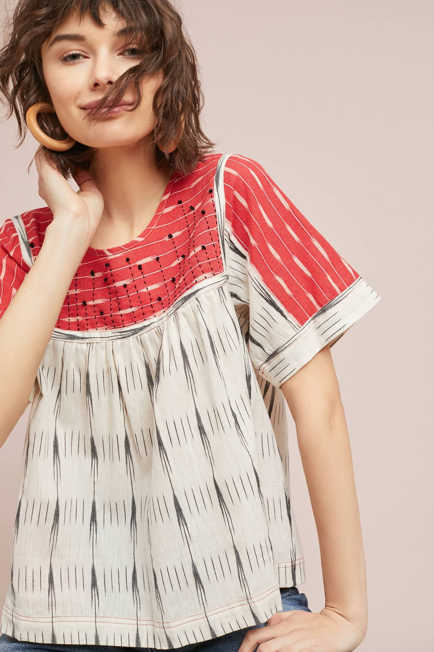 Ikat swing top ad anthrofave anthroregistry anthropologie your