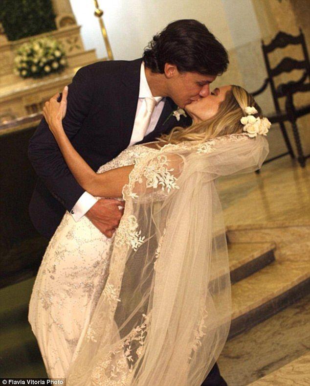 Brazilian fashionista Helena Bordon holds third wedding in St Barts ...