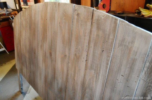 Diy Weathered Wood Headboard Paint Colors Wood