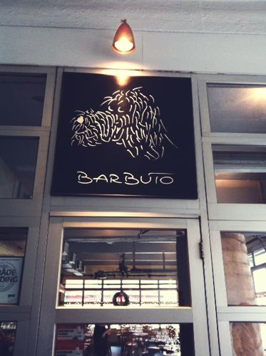 Barbuto - johnathan waxman's restaurant in West Village NY. One of my favorite brunch spot. Love the chicken dish!