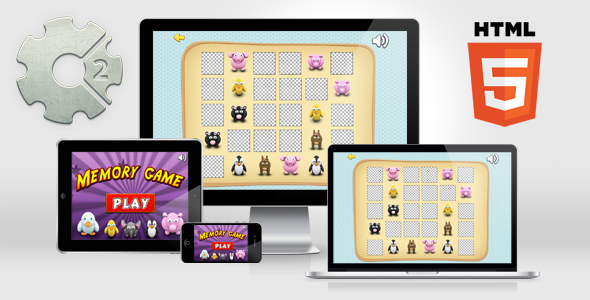 Memory Game HTML5 Educational Game Memory games
