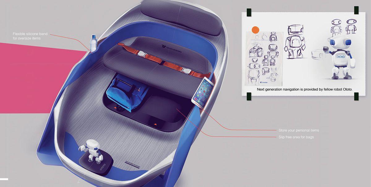 Tokyo Olympics Vehicle 2020 On Behance Automobile Interior Design Car Interior Sketch Car Interior