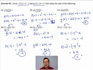 Common Core Algebra II Unit 2 Lesson 3 Function Co | Recent