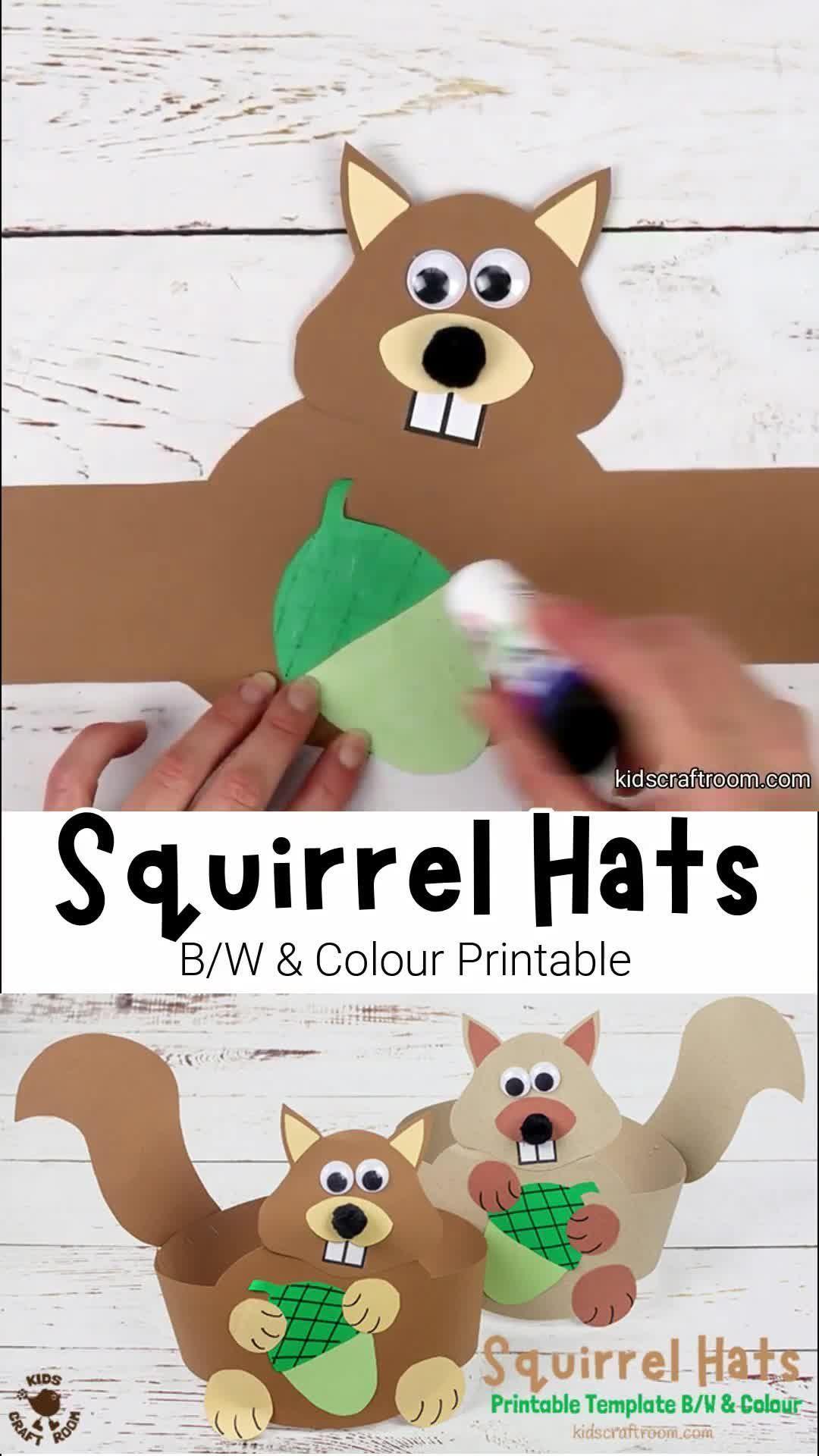 Photo of Squirrel Hat Craft