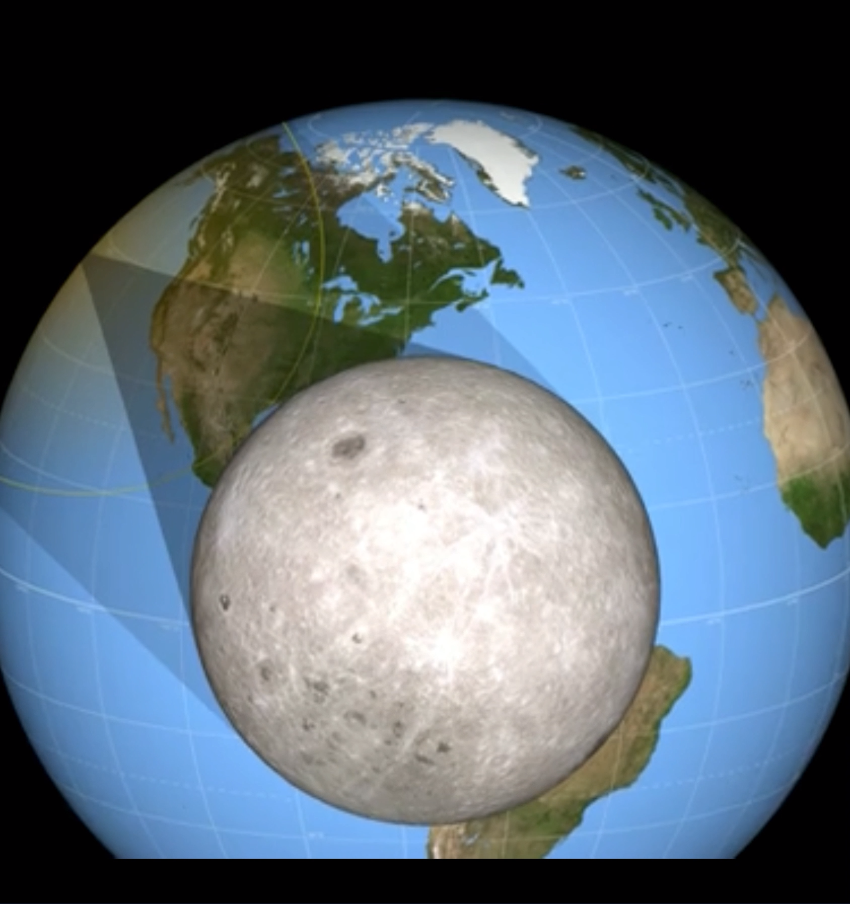 The shadow comprises two concentric cones called the umbra and the penumbra. Within the smaller, central umbra, the Sun is completely blocked by the Moon, and anyone inside the umbra sees a total eclipse. Within the larger penumbra, the Sun is only partially blocked.  #nasa #solareclipse #eclipse #visualization #Nasa #moon #sun #space #inspiration #cosmos #universe #rocket #outerspace #science #learning #education #mars #geek #nerd #marswalkers