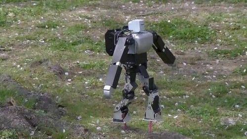 Dr. Guero's Robot Balances On A Pair Of Nail-Like Stilts (+VIDEO)