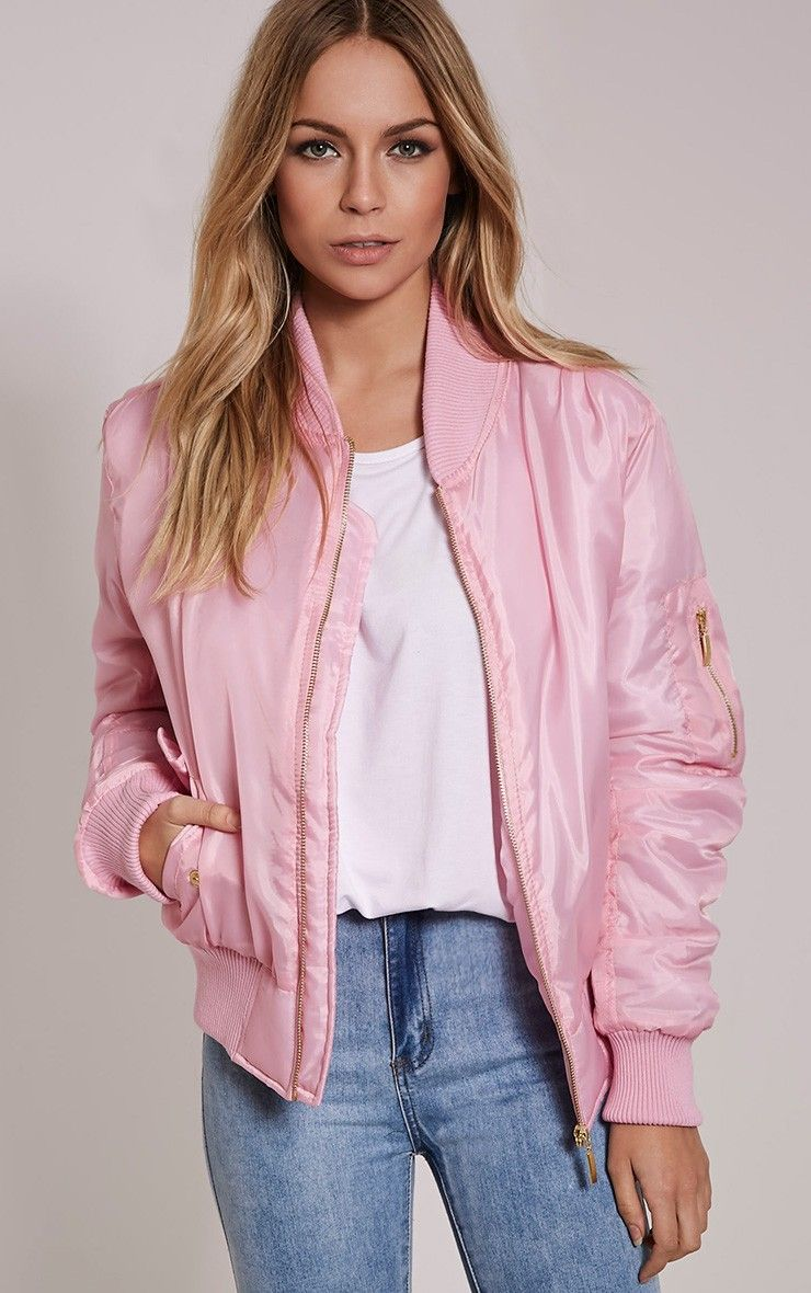 I FELL IN LOVE!!! Alexus Pink Bomber Jacket | Street Style ...