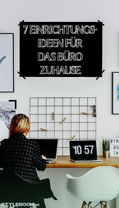 Der heimische Arbeitsplatz sollte Raum für Kreativität bieten, gemütlich sein und gleichzeitig die Produktivität anregen. Unsere 7 Inspirationen für das perfekte Home Office.