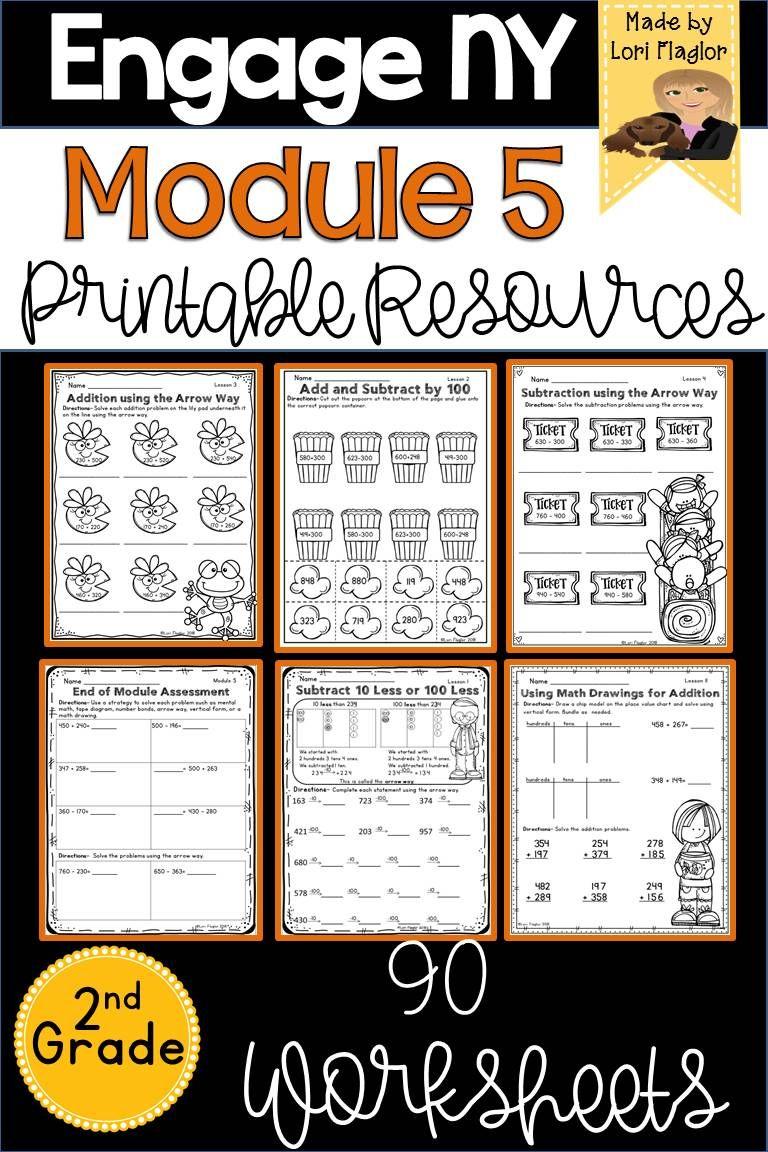 Engage Ny Grade 2 Module 5 Supplemental Printable And Digital Resource Engage Ny Math Eureka Math Math Packets [ 1152 x 768 Pixel ]