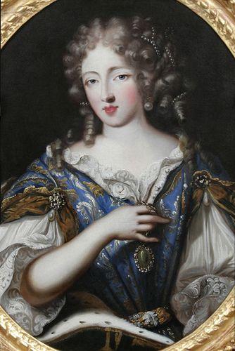 Louise de la VALLIÈRE, mistress of Louis XIV of France, artist unknown