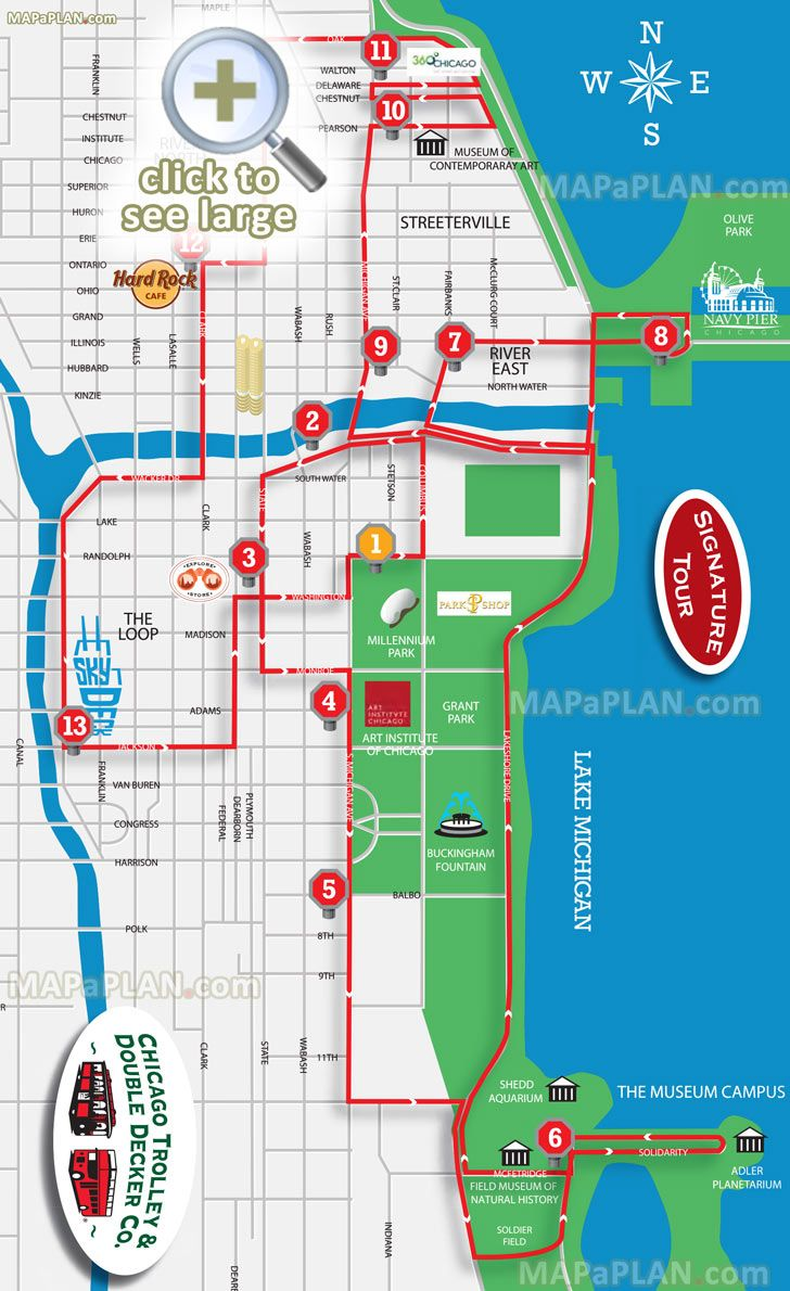 Magnificent Mile Shopping Map Retail Area Map – Tourist Map Of Downtown Chicago