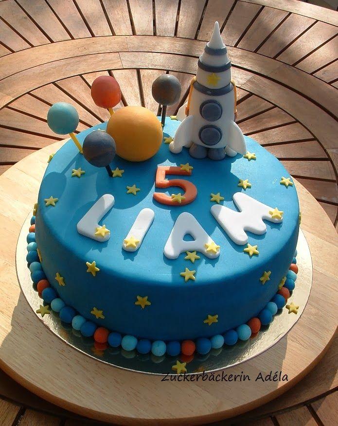 Weltall Rakete Weltall Kuchen Cake Und Cake Pops
