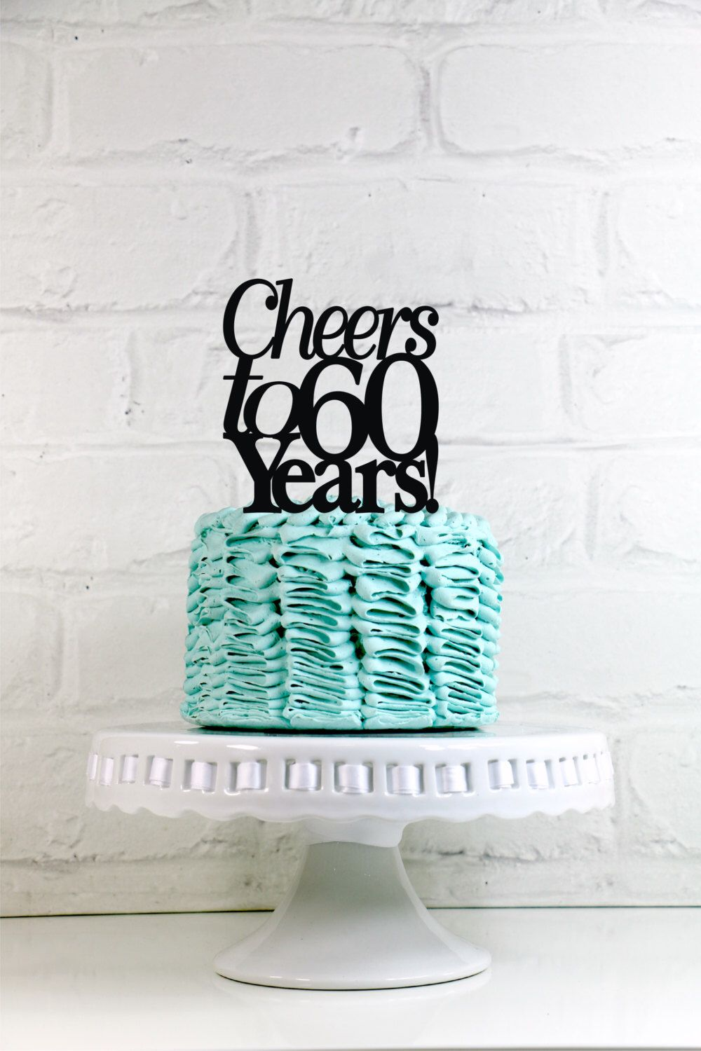 Anniversary Cake Topper 65 Years of Love 65th Anniversary or ...