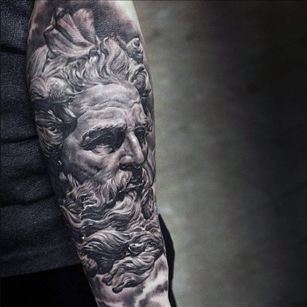 M s de 1000 ideas sobre zeus tattoo en pinterest for Zeus tattoo designs