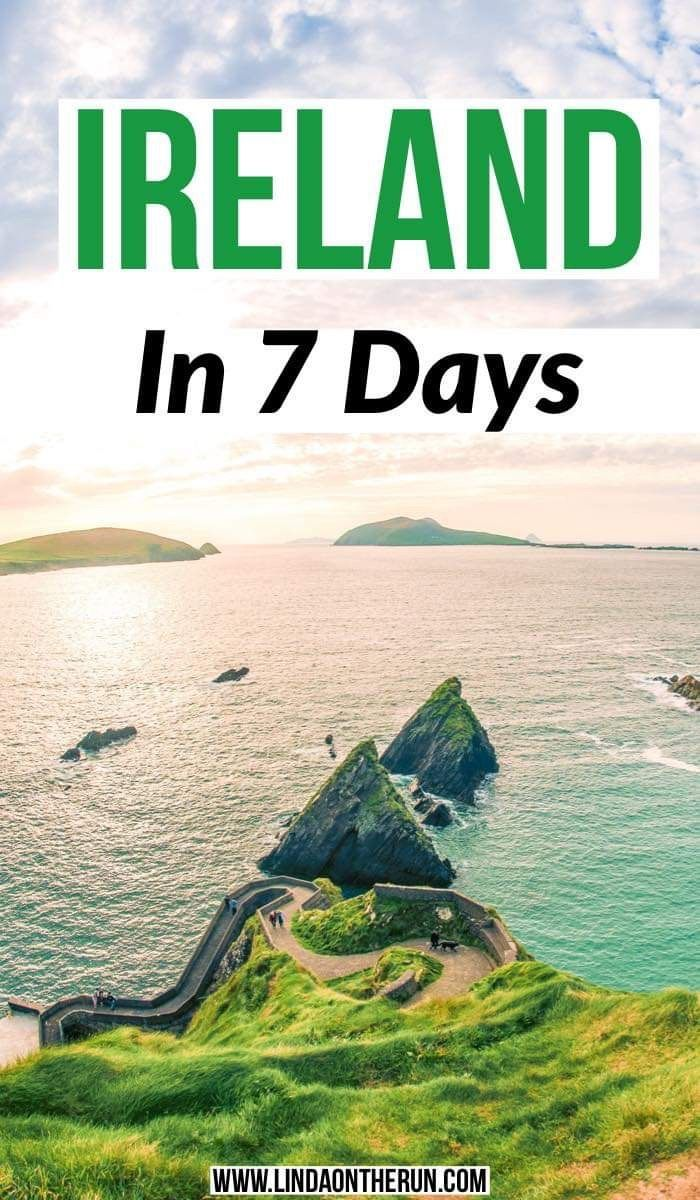 How to spend 7 days in Ireland| the ultimate Ireland Itinerary|tips for spending 7 days in Ireland| one week in Ireland| How to plan a 7 day Ireland itinerary| best things to do in Ireland| Ireland travel tips| best things to do in Ireland in 7 days #ireland #irelandtravel #traveltips #ukdestinations #uk #destinations