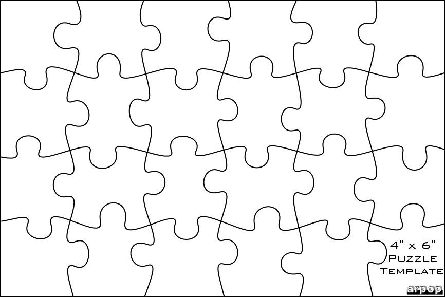 Free Scroll Saw Patterns By Arpop Jigsaw Puzzle Templates Printables