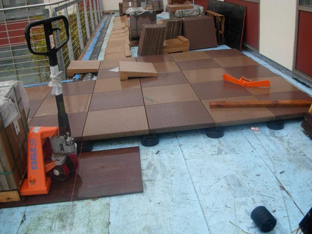 Waterproofing Experts Pavers On Pedestals Pavers Front Patio Pedestal