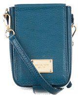 d51e1477f Michael Kors Leather Cell Phone Crossbody Bag | MK | Handbags ...