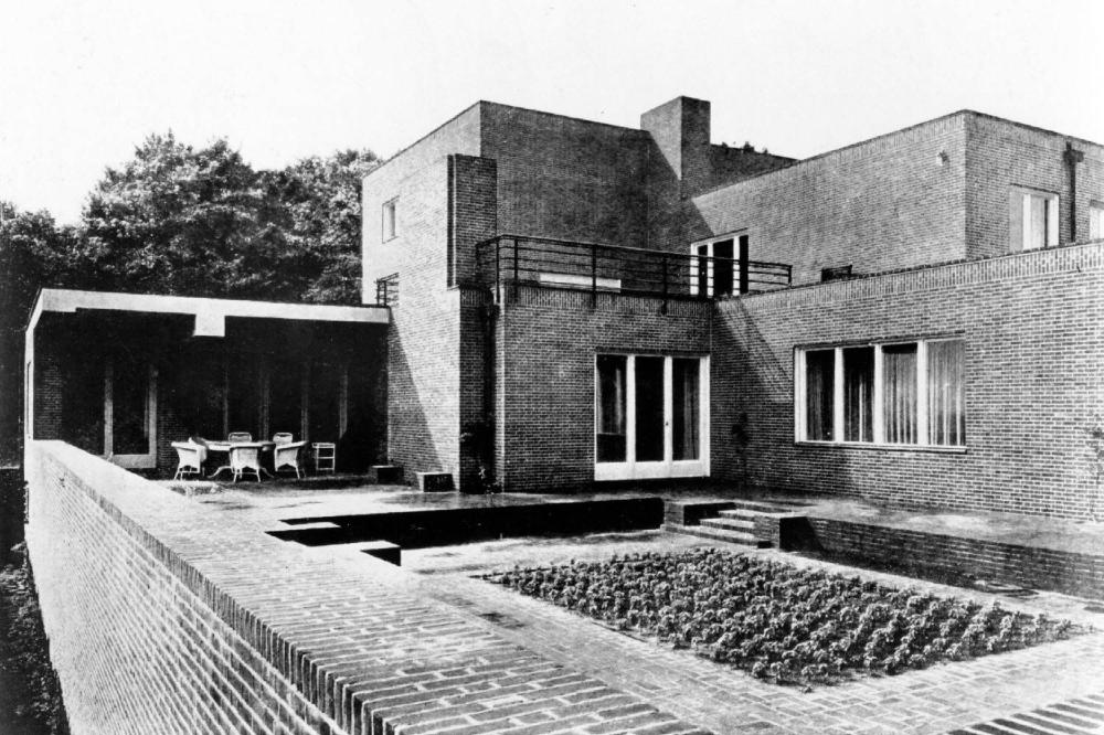 02] Casa Wolf, Gubin, Polonia, Mies van der Rohe (1926) | Arquitectura, Arquitectura contemporánea, Arquitectos