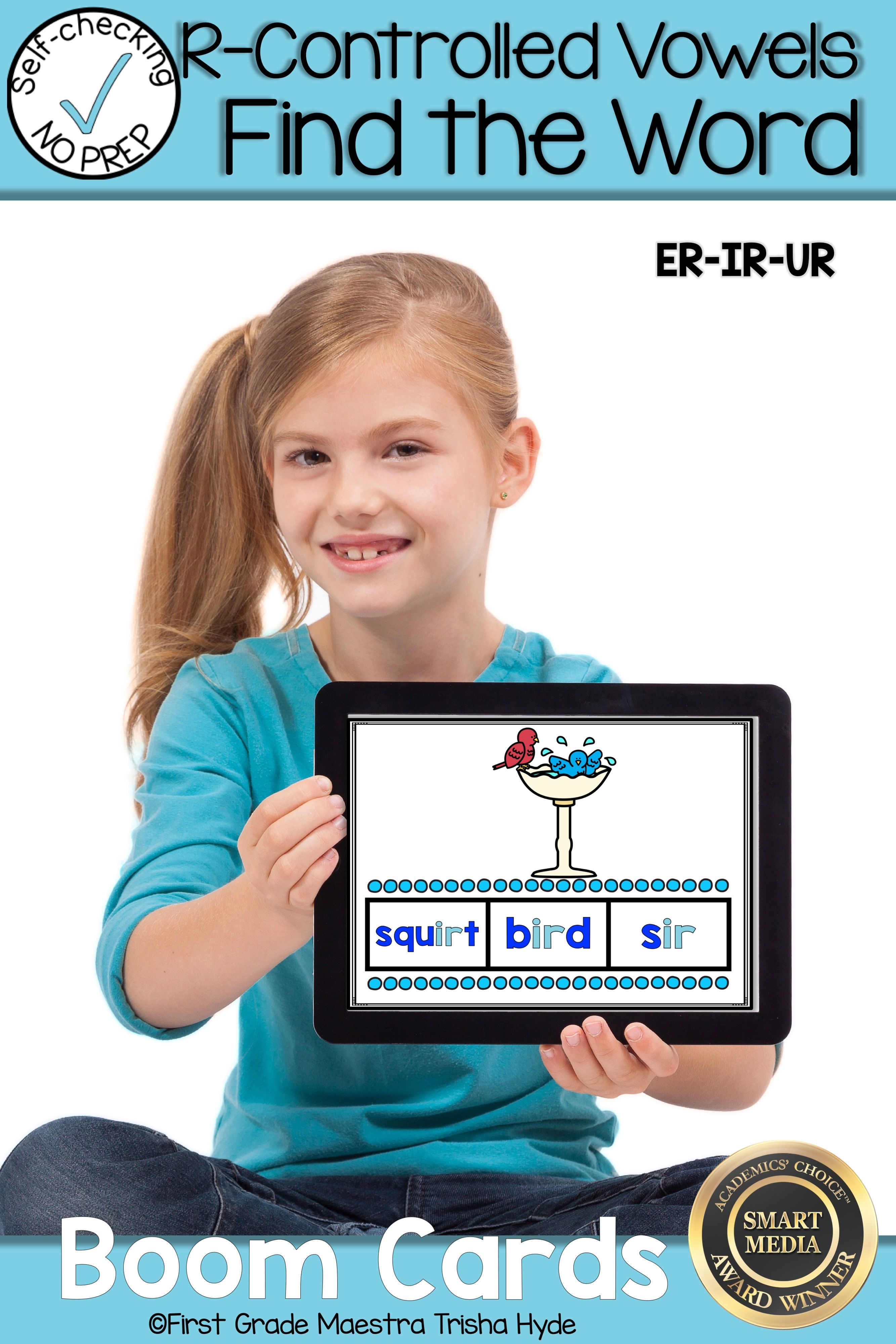 Boom Cards R Controlled Vowels Er Ir Ur Find The Word