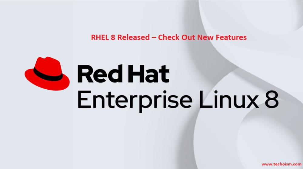 Red Hat Enterprise Linux 8 Rhel 8 Is Now Released For Productions Use Red Hat Enterprise Linux Rhel 8 Official Red Hat Enterprise Linux Linux Linux Kernel