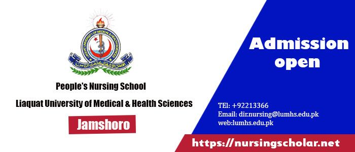 Peopleu0027s Nursing School LUMHS Jamshoro Admission 2017 opens for - admission forms of schools