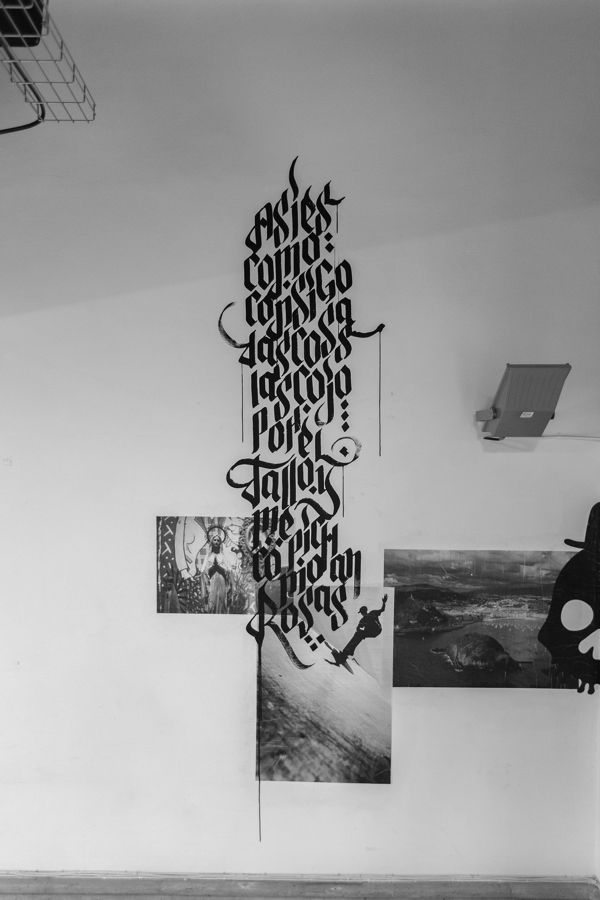 EXPOSÉ • Paste up & Calligraffiti by JuanJo Rivas del Rio
