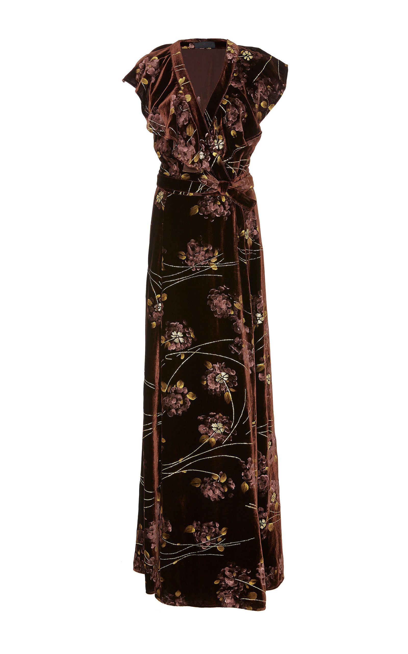 Painted velvet dress by co beautiful dresses pinterest dress