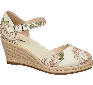 Beige Keil Von In Damen Sandaletten Graceland NwOn08mv