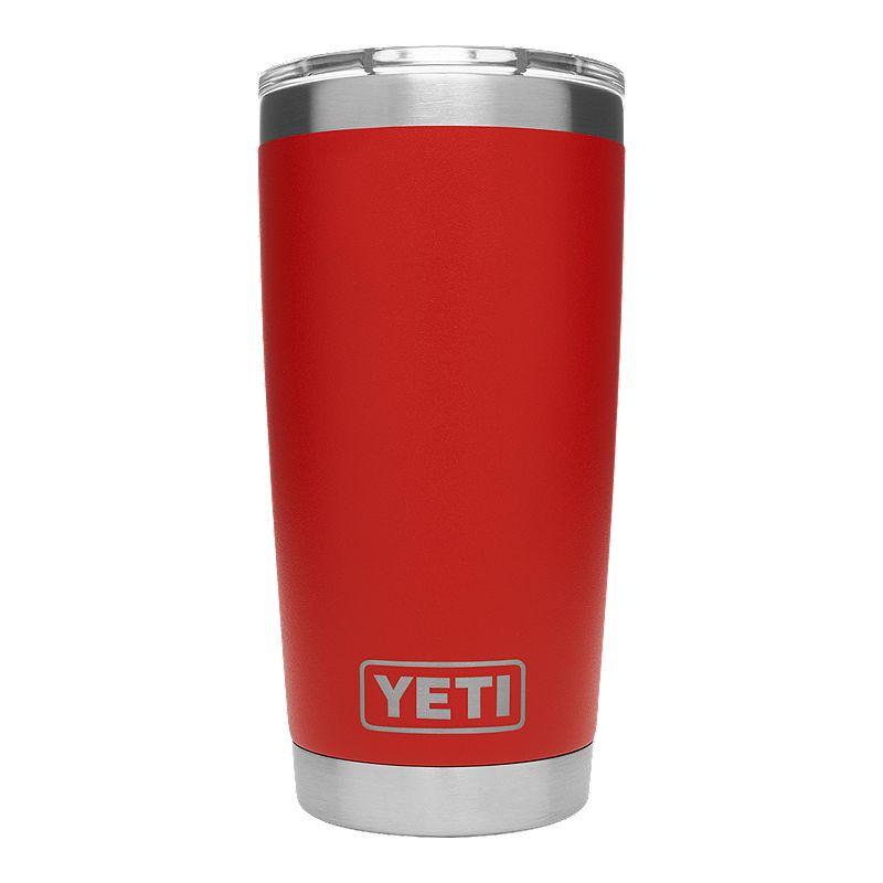 Yeti Rambler 20 Oz Tumbler With Magslider Lid Canyon Red 20 Oz