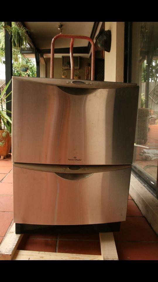 My Fisher Paykel Dd603 Stainless Steel Twin Draw Dishwasher Bauhaus Design Design Elements