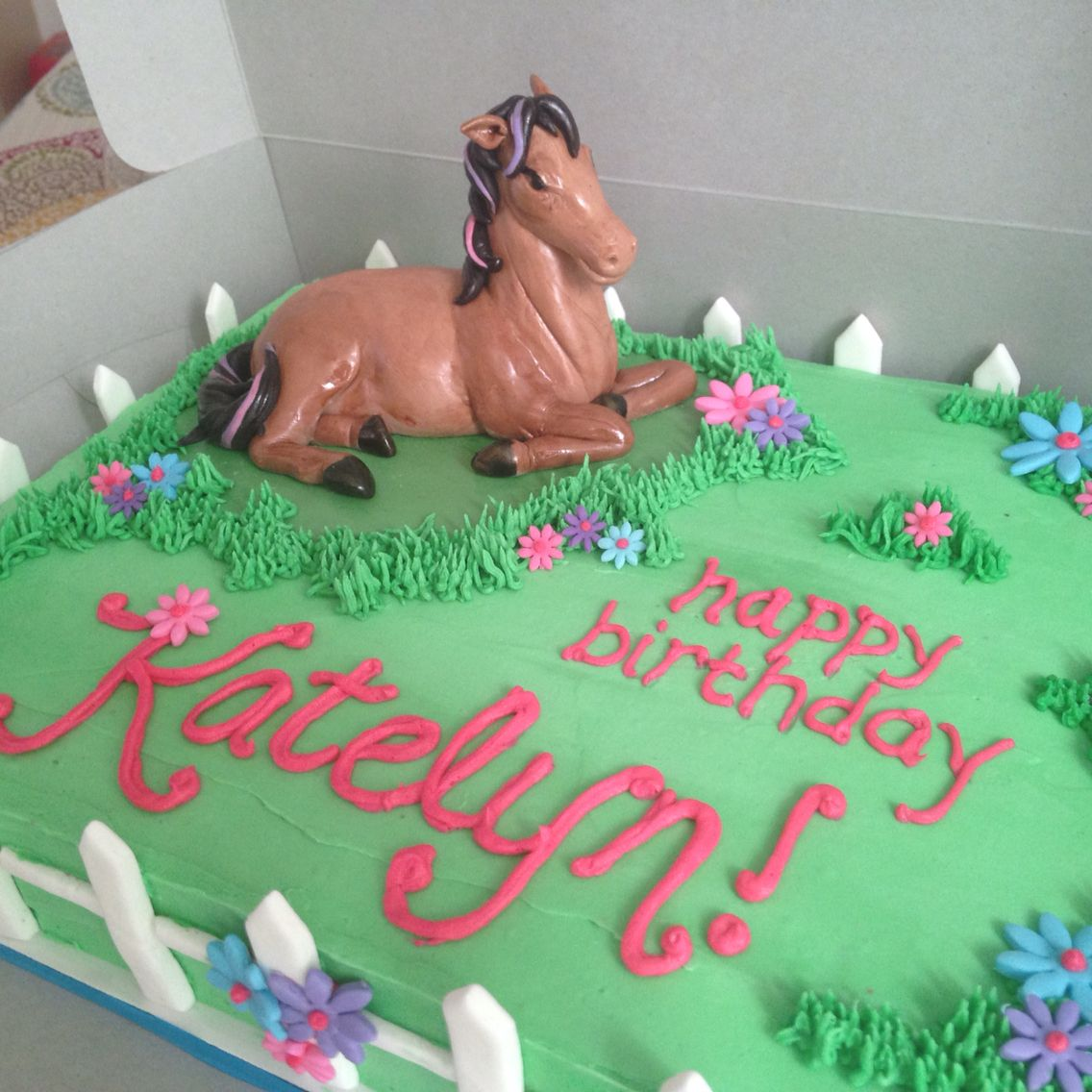 Fondant horse Chocolate sheet cake My tasty creations