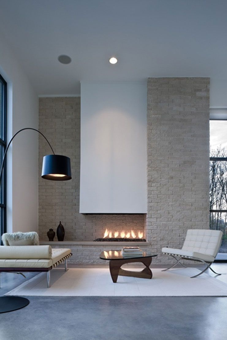 Living Room Fireplace That Will Warm You All