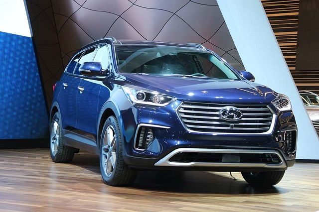 2018 hyundai new models. simple hyundai the new upcoming model 2018 hyundai santa fe is going to be a refreshed  of the popular manufacturer models have been around for 15 years  for hyundai