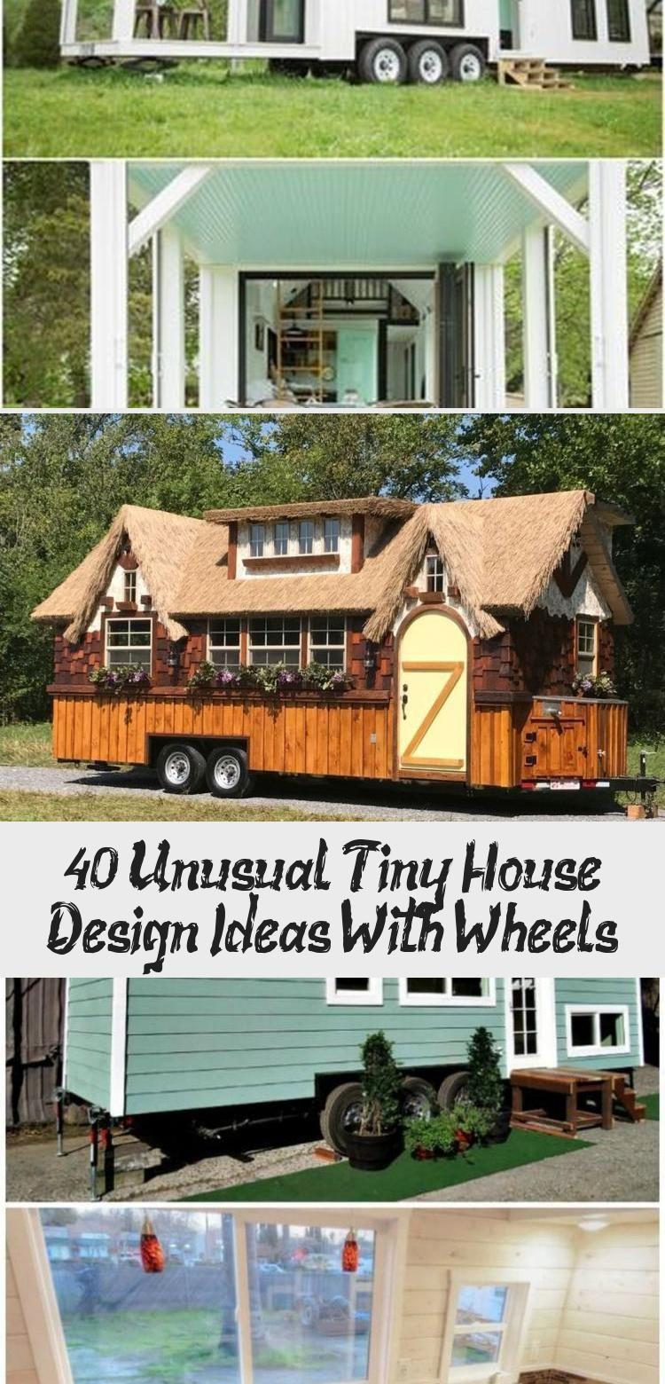Unusual Tiny House Design Ideas With Wheels 27 Tinyhousedesigncheap In 2020 Tiny House Design House Design Tiny House