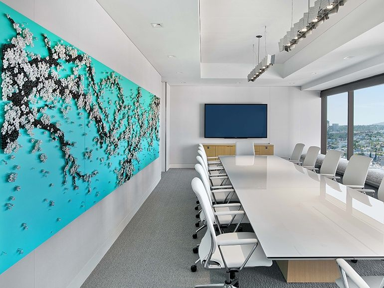 Bright Colors and Contemporary Artwork Punctuate Pritzker Group\'s ...