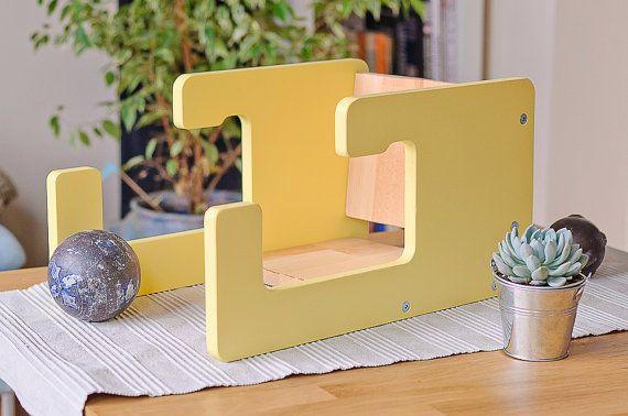 Yellow Chair Baby Present Child Furniture Baby by MilsLittleSeat