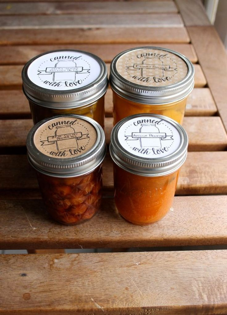 20 jar labels to add a personal touch to your preserves