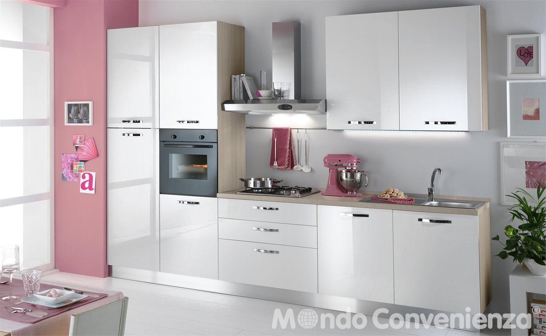 Cucina Sara - Cucina bloccata - Composizioni bloccate - Mondo ...