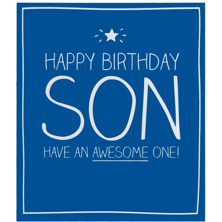 happybirthdayson2jpg Happy Birthday Pinterest – Son Birthday Cards