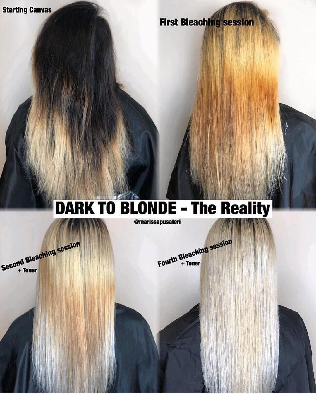 Holy Cow We Are Over The Moon For This Color Transformation