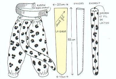 disfraz de leopardo para niños con patrones | idisfraz