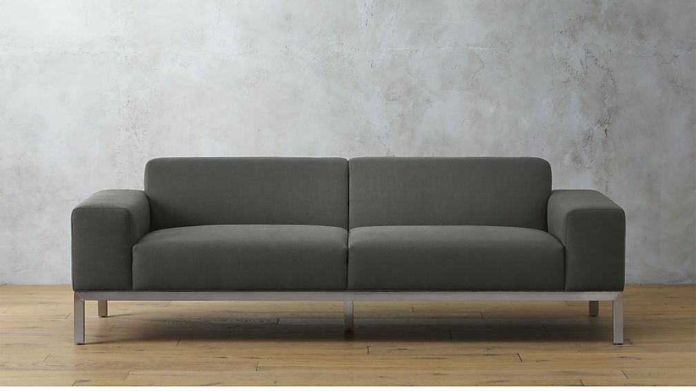 Sofa Grey Futon Sofa Comfy Living Room Furniture Sofa
