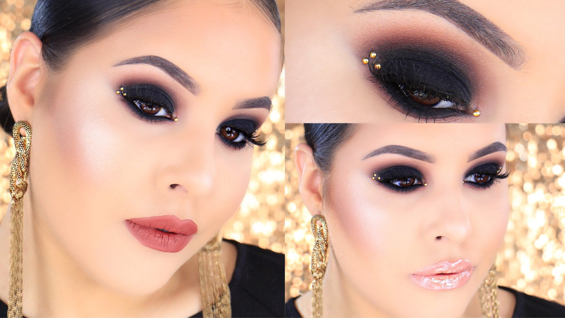beauty video tutorials classic black smokey eye makeup beauty video tutorials classic black smokey eye makeup tutorial new years eve baditri Choice Image