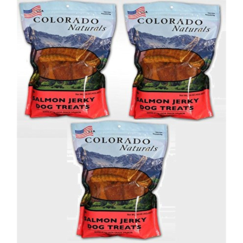 Colorado naturals wild caught salmon jerky dog treats