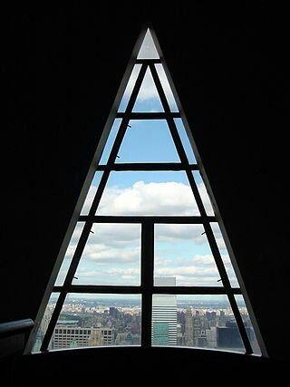 Vista impresionante desde una de las míticas ventanas del edificio Ccrysler.