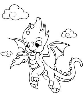 Ausmalbild Kleiner Fliegender Drache Drachen Zum Ausmalen Drachen Ausmalbilder Wenn Du Mal Buch