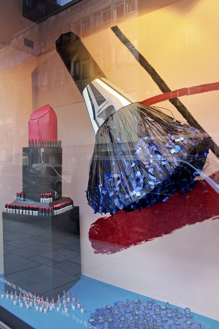 Selfridges Beauty Workshop windows by Studio XAG, London visual merchandising