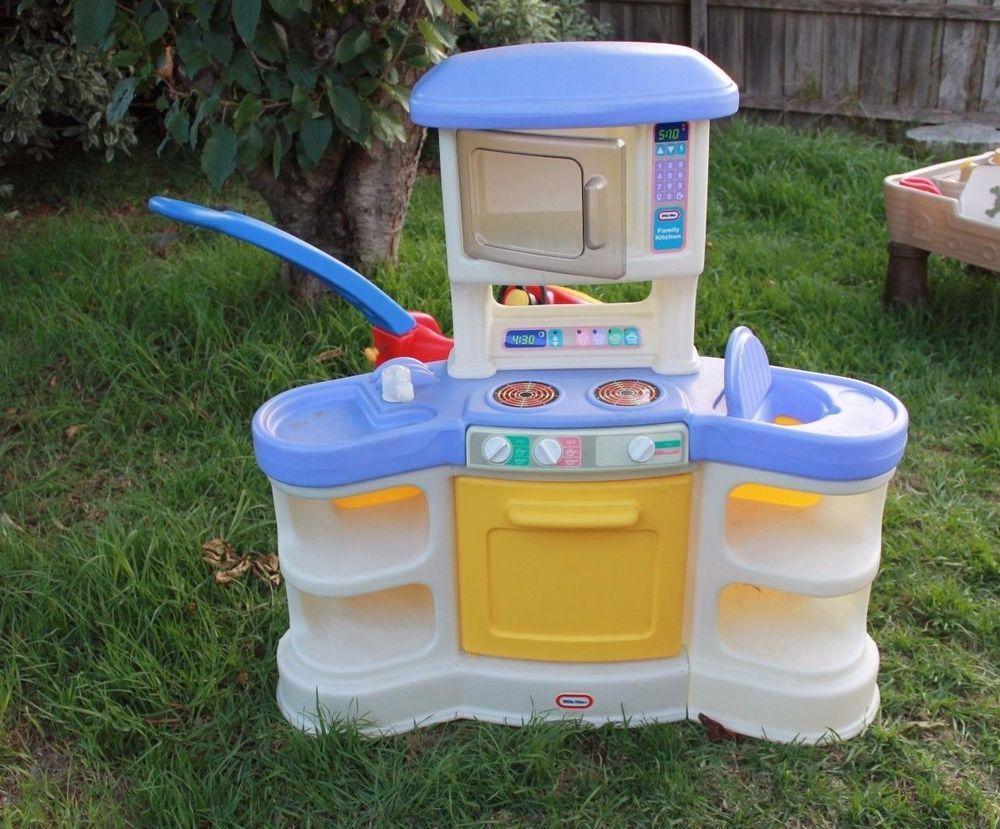Little Tikes Family Kitchen Highchair Inc Toy S Purple Cubby Ex Rare 200 Littletikes